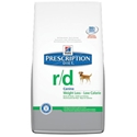 Hills Prescription Diet r/d Canine Weight Loss-Low Calorie Dry Food, 17.6 lbs