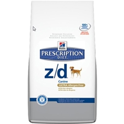 Hills Prescription Diet z/d Canine ULTRA Allergen Free Dry Food, 8 lbs