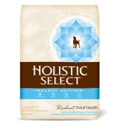 Holistic Select Dog Food Anchovy, Sardine & Salmon, 15 lb