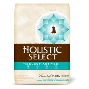Holistic Select Puppy Food Anchovy, Sardine & Chicken, 15 lb