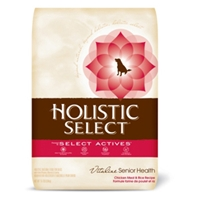 Holistic Select Senior Dog Food, 15 lb
