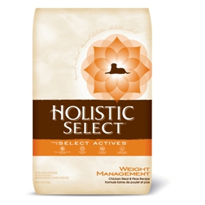 Holistic Select Weight Management Dog Food, 28 lb