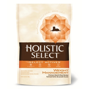 Holistic Select Weight Management Dog Food, 5.5 lb