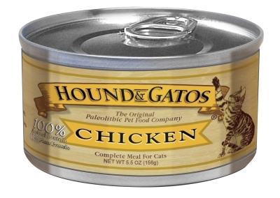 Hound & Gatos Homestyle Chicken Recipe for Cats, 5.5 oz - 24 Pack