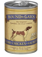 Hound & Gatos Lamb, Chicken, and Salmon Recipe for Dogs, 13 oz - 12 Pack