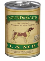 Hound & Gatos Lamb Recipe for Dogs, 13 oz - 12 Pack