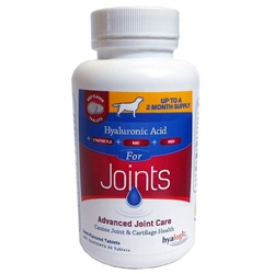 Advanced Joint Care w/ Hyaluronic Acid Beef Flavored Tabs for Dogs, 30 ct