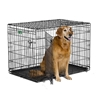 "iCrate Double Door Dog Crate, 42"" x 28"" x 30"""