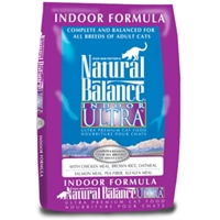 Indoor Ultra Premium Formula Cat Food, 15 lb