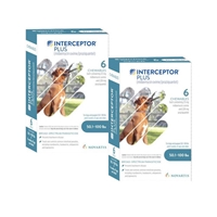 Interceptor Plus for Dogs 50.1-100 lbs Blue, 12 Pack