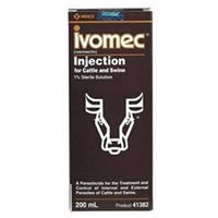 Ivomec 1% Injection, 200 ml
