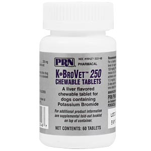 K-BroVet 250 mg, 60 Chewable Tablets