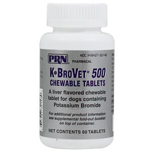 K-BroVet 500 mg, 60 Chewable Tablets
