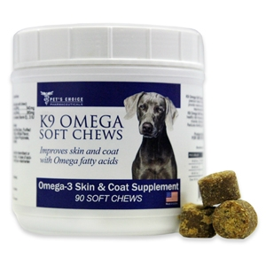 K9 Omega Soft Chews, 90 ct