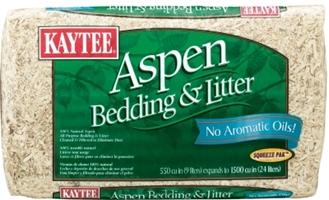 Kaytee Aspen Bedding & Litter, 1200 cu. in