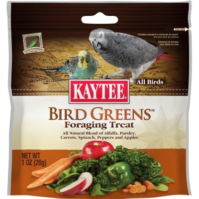 Kaytee Bird Greens Foraging Treat, 1 oz