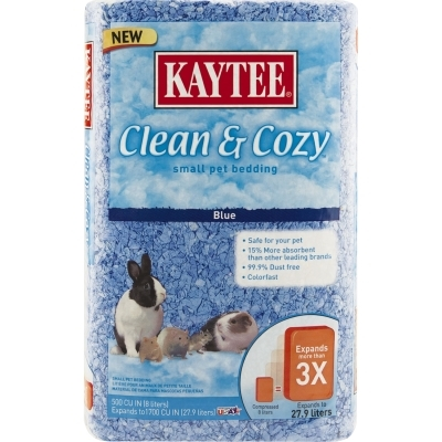 Kaytee Clean & Cozy Bedding, Blue, 500 cu. in
