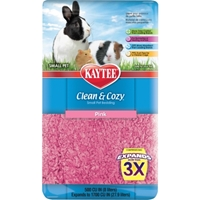 Kaytee Clean & Cozy Bedding, Pink, 500 cu. in