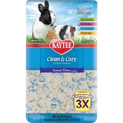 Kaytee Clean & Cozy Bedding, Summer Storm, 500 cu. in