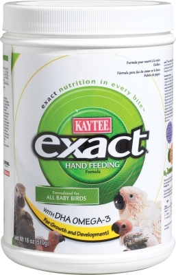 Kaytee Exact Hand Feeding Baby Bird Food, 18 oz