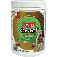 Kaytee Exact High Fat Hand Feeding Baby Bird Food, 18 oz