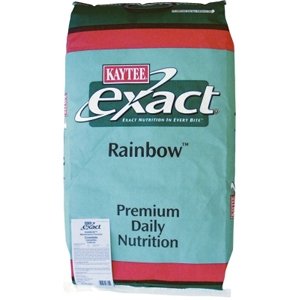 Kaytee Exact Rainbow Cockatiel Food, 25 lb