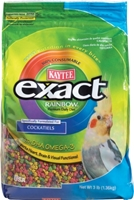 Kaytee Exact Rainbow, Cockatiel Food, 3 lbs