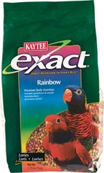 Kaytee Exact Rainbow, Lory and Lorikeet Food, 1.75 lbs