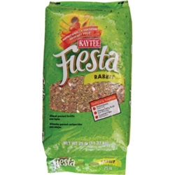 Kaytee Fiesta Rabbit Food, 25 lb