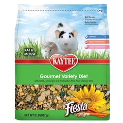 Kaytee Fiesta, Rat & Mouse Food, 2 lbs