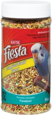 Kaytee Fiesta Tropical Fruit Treat for Parakeets, 10 oz