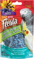 Kaytee Fiesta Yogurt Dipped Sunflower Seeds, Blueberry Yogurt, 2.5 oz
