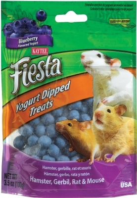 Kaytee Fiesta Yogurt Dipped Treats, Blueberry Yogurt, 3.5 oz