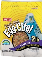 Kaytee Forti-Diet Egg-Cite! Parakeet Food, 2 lbs