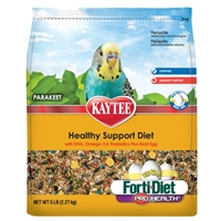 Kaytee Forti-Diet Egg-Cite! Parakeet Food, 5 lbs