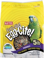 Kaytee Forti-Diet Egg-Cite! Parrot Food, 5 lbs