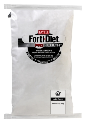 Kaytee Forti-Diet Pro Health Adult Rabbit Food, 25 lbs