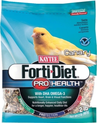 Kaytee Forti-Diet Pro Health Canary Food, 2 lbs