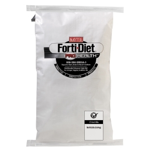 Kaytee Forti-Diet Pro Health Chinchilla Food, 25 lbs