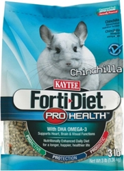 Kaytee Forti-Diet Pro Health Chinchilla Food, 3 lbs