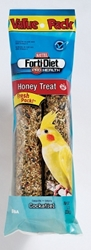 Kaytee Forti-Diet Pro Health Honey Stick, Cockatiel, 8 oz