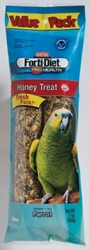 Kaytee Forti-Diet Pro Health Honey Stick, Parrot, 7 oz