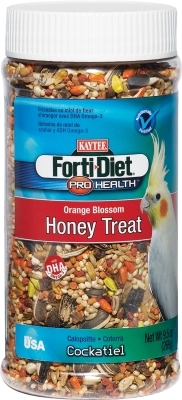 Kaytee Forti-Diet Pro Health Orange Blossom Honey Treat, Cockatiel, 10 oz