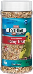 Kaytee Forti-Diet Pro Health Orange Blossom Honey Treat, Parakeet, 10 oz