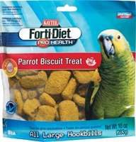Kaytee Forti-Diet Pro Health Parrot Biscuit Treat, 10 oz