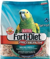 Kaytee Forti-Diet Pro Health Parrot Food with Safflower, 5 lbs