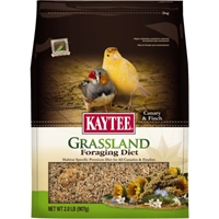 Kaytee Grassland Foraging Diet, Canary & Finch, 2 lbs