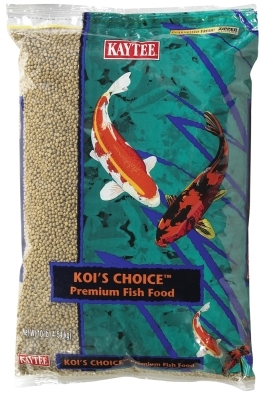 Kaytee Koi's Choice Premium Fish Food, 10 lbs