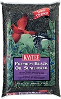 Kaytee Premium Black Oil Sunflower Wild Bird Food, 10 lbs
