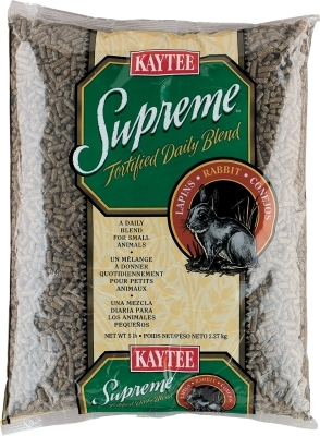 Kaytee Supreme Rabbit Fortified Daily Blend, 5 lbs